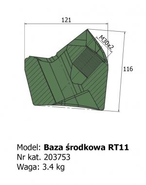Baza środkowa RT11