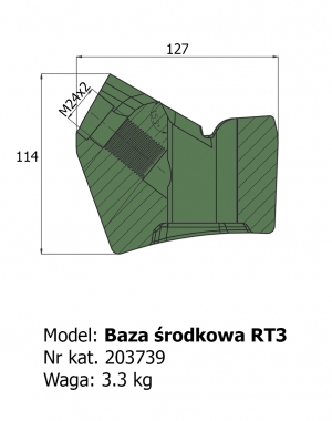Baza środkowa RT3