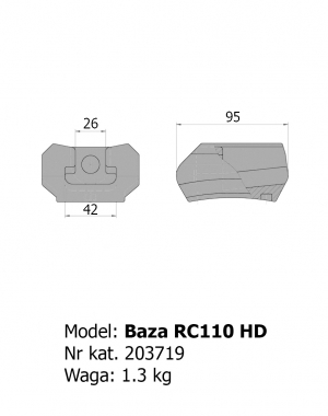 Baza RC110 HD