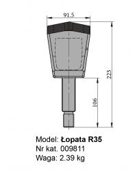 Łopata R35