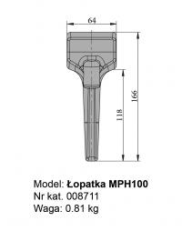 Łopatka MPH100