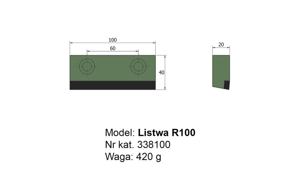 Listwa R100