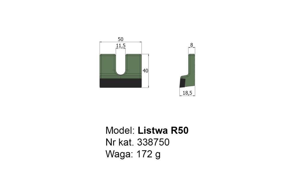 Listwa R50